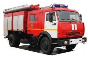 Услуги пожарного расчета, почасовая аренда пожарной машины